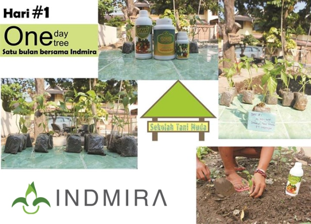 ODOT: Collaboration between Sekolah Tani Muda and Indmira